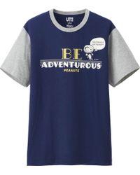 Uniqlo Men Peanuts Graphic Short Sleeve T Shirt - Lyst