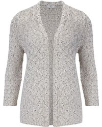 Cc Fleck Edge To Edge Cardigan - Lyst