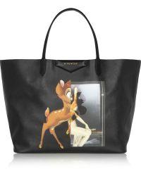Givenchy Antigona Shopping Bag in Printed Coated Canvas - Lyst
