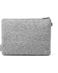 Dagne Dover - The Scout Pouch - Heather Grey - Large - Lyst