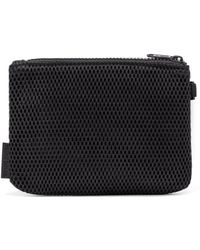 Dagne Dover - The Parker Airmesh Pouch - Onyx - Small - Lyst