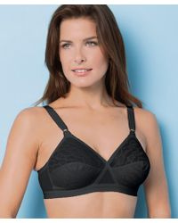 37173021dc82e DAMART - Pack Of 2 Playtex Cross Your Heart Lace Bras - Lyst