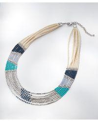 DAMART - Necklace - Lyst
