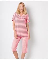 DAMART - Cropped Pyjamas - Lyst