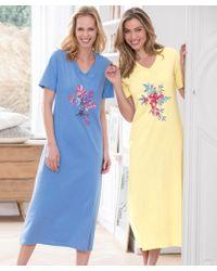 DAMART - Pack Of 2 Nightdresses - Lyst