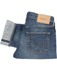 Edwin - Selvage Denim Jeans - Lyst