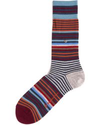 Burlington - Stripe Socks - Lyst