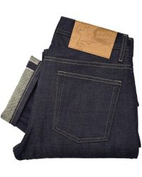 Naked & Famous - Naked And Famous Weird Guy Midwash Selvege Denim Jeans 017673 - Lyst