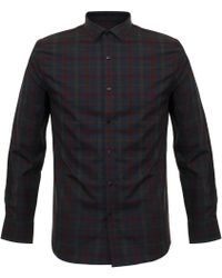 Matíníque - Allan Burgundy Check Shirt - Lyst
