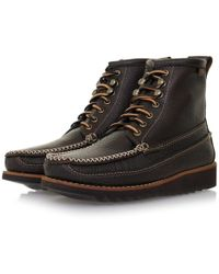 G.H.BASS - Lyndon Hi Ranger Moc Ii Boot - Lyst