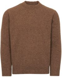 Universal Works - Camel Fishermans Jumper - Lyst