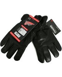 Red Wing - Leather Thinsulate™ Black Gloves - Lyst