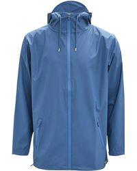 Rains - Breaker Jacket - Faded Blue - Lyst