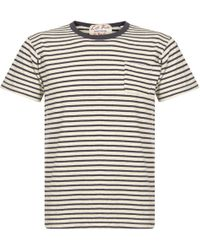 Leftfield NYC - Pocket Striped Crew Neck T-Shirt - Lyst