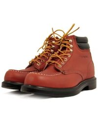 Red Wing - Moc Toe Supersole Oro Russet Boot 08804 - Lyst