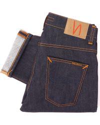 Nudie Jeans - Grim Tim Denim Jeans - Lyst