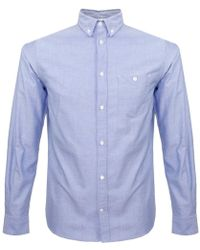 Norse Projects - Anton Oxford Ls Navy Shirt - Lyst