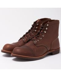 Red Wing - 8111 Iron Ranger Boot - Amber - Lyst