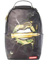 Sprayground - Army Lips Backpack - Lyst