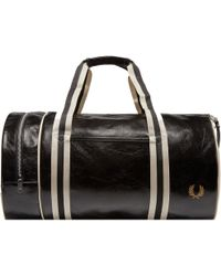 Fred Perry Authentic - Classic Barrel Bag - Lyst