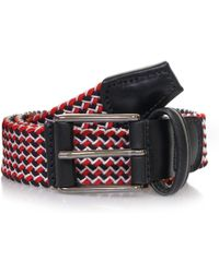 Andersons - Elasticated Woven Textile Belt - Lyst