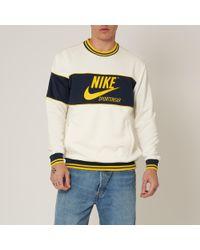 Nike - Sportswear Archive Crew Neck Sweatshirt - Lyst