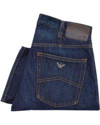 Armani Jeans - J21 Blue Denim 8N6J21 6D0Lz C1500 - Lyst
