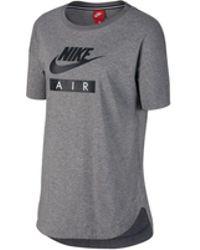 Nike - Air Logo Womens T-shirt - Lyst