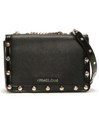 Lyst - Versace Jeans Ee1vrbbl5 Black Shoulder Bag in Black 4891a7e96b