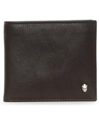 Class Roberto Cavalli - Men's Brown Leather Panther Wallet - Lyst