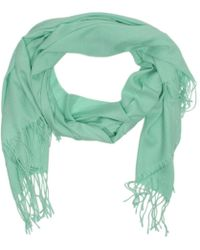 Daniel - Summer Turquoise Cashmere Scarf - Lyst