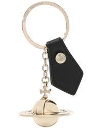 Vivienne Westwood - Large Gold Orb Key Ring - Lyst