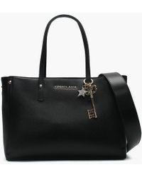 Versace Jeans - Tula Black Structured Shopper Bag - Lyst