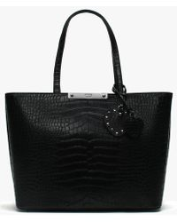 Day Birger et Mikkelsen. Gweneth Magnolia Bag. £55. The Dressing Room ·  Guess - Britta Black Reptile Tote Bag - Lyst 2a2113efe