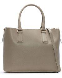 Daniel - Member Beige Leather Tote Bag - Lyst