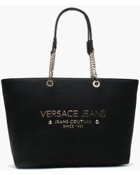 Frida Large Eco Leather Shopper.  195. Psyche · Versace Jeans - Lena Black  Chain Handle Shopper Bag - Lyst f4120338f4