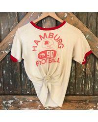 DANNIJO - Vintage Hamburg Football Tee - Lyst