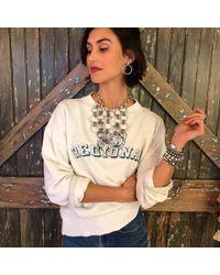 DANNIJO - Vintage Regional Sweatshirt - Lyst