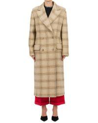 MM6 by Maison Martin Margiela - Wool Coat - Lyst
