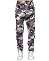 Valentino - Grey Camo Vltn Lounge Pants - Lyst
