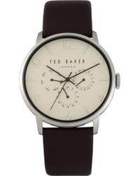 Ted Baker - James - Brown/silver - Lyst