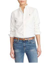 Polo Ralph Lauren - Harper Washed Oxford Shirt - Lyst