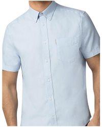 Ben Sherman - Ss Core Oxford Shirt - Lyst