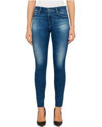 AG Jeans - Farrah High Rise Skinny Crop - Lyst