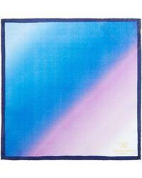 Richard James - Ombre Silk Pocket Hank - Lyst