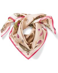 Aspinal - Feather Scarf - Lyst