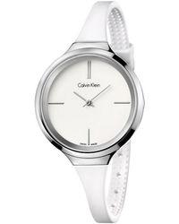 Calvin Klein - Lively White On White - Lyst
