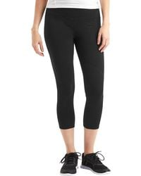 Gap - Fit Gfast Performance Cotton Capris - Lyst