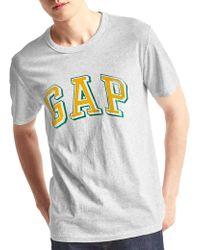 Gap - Block Logo Graphic Tee - Lyst