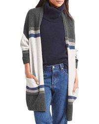 Gap - Kimono Sleeve Stripe Cardigan - Lyst